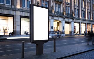 スタンドアロン型デジタルサイネージの写真